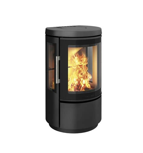 Hwam 2610 Wood Stove With A Energy Rating Stoves More Glass Door For Wood Stove
