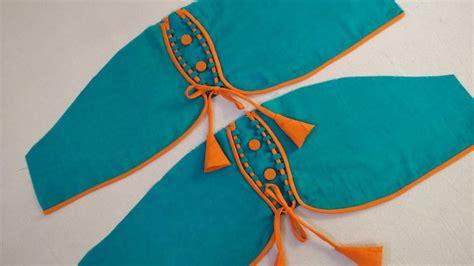 design baju cutting unique sleeves baju design cutting and stitching youtube