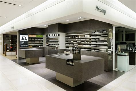 design concept retail glamshops visual merchandising shop reviews aesop