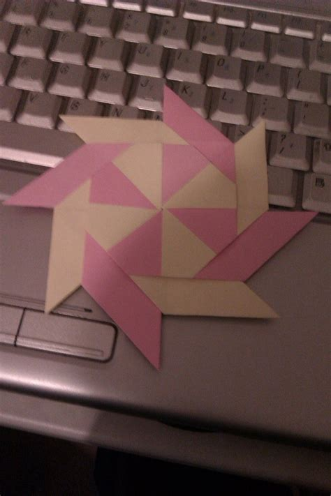 Origami 8 Pointed - origami 8 pointed by kid3001 on deviantart