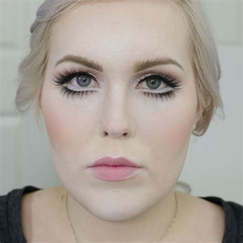 tutorial make up like a doll porcelain doll halloween makeup tutorial