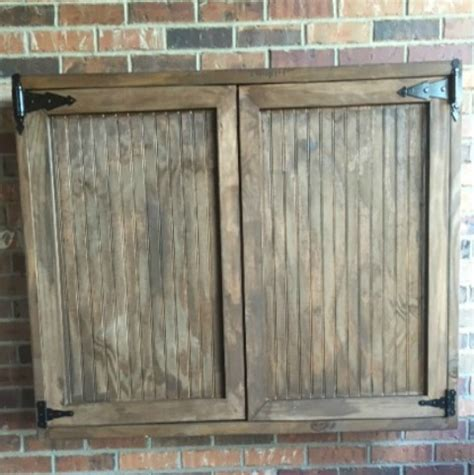 Outdoor Tv Cabinet Diy by Project Spotlight Outdoor Tv Cabinet With A Touch
