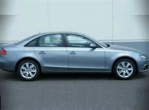 Audi A4 2 0 T Premium view of audi a4 2 0 t premium photos video features and