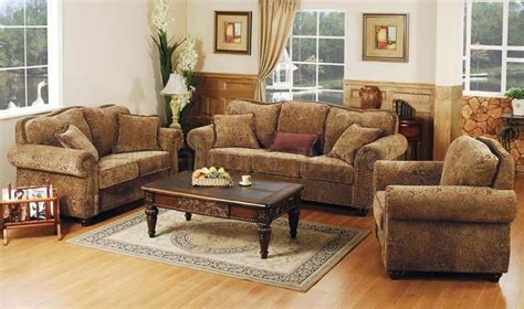 rustic living room furniture sets rustic indian furniture printed microfiber living room set with studded accents furniture