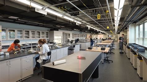 design lab west niles north and west high school stem labs legat architects