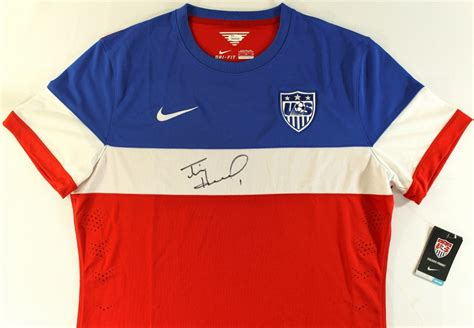 tim howard world cup jersey online sports memorabilia auction pristine auction