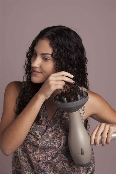 Drying Curly Hair With A Diffuser hair dryer attachments how to master your blowdryer