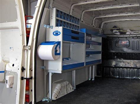 scaffali per furgoni fai da te allestimenti speciali per veicoli commerciali