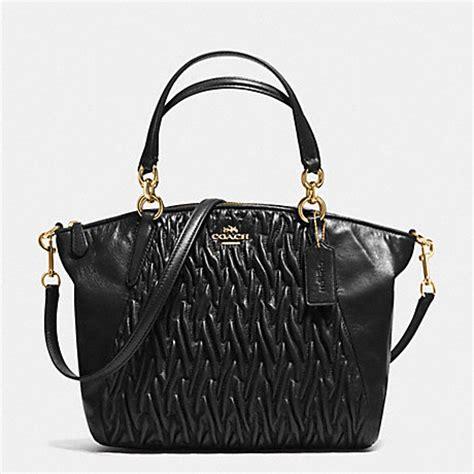 Ready Coach Kelsey Small Black coach f37081 coach handhandbag