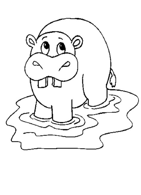 christmas hippo coloring page 14 hippo coloring pages printable print color craft