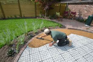 resin bound gravel patio in wilmslow back yard resin bound gravel gravel patio