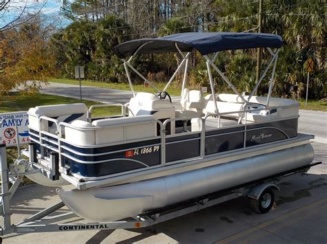 used house boat pontoon boats for sale