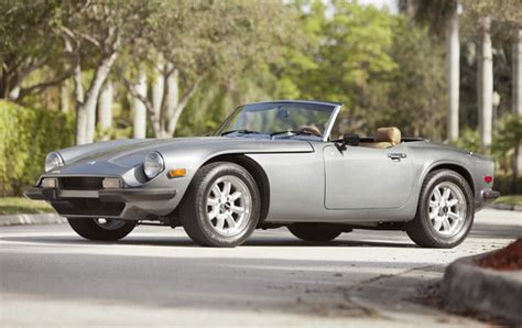 Tvr Roadster 1979 Tvr 3000s Roadster Gooding Company