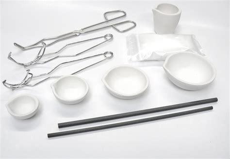 Es Cup Pino 85 Gram 6 Pcs torch melting kit 11 pc set crucibles dish cup handles