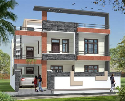 modern compound wall designs residential architecture residential projects