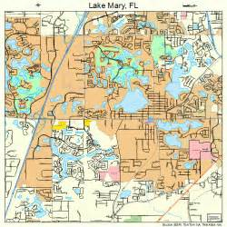Map Of Lake Mary Florida by Lake Mary Florida Street Map 1238425