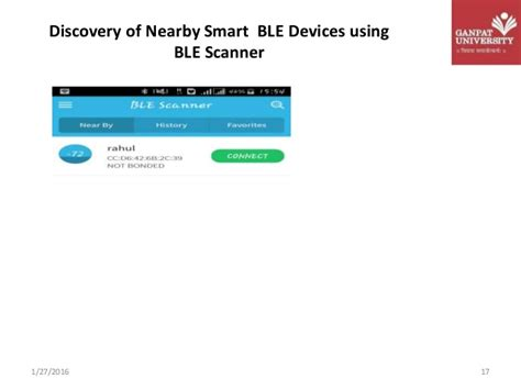 android ble interfacing ble with android based device