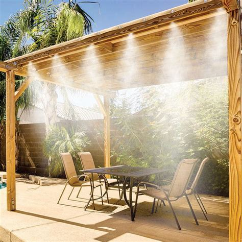 Water Mist Systems For Patio by 25 Best Ideas About Water Mister On Modern