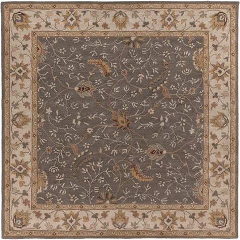moss rugs artistic weavers elam moss 8 ft x 8 ft square indoor area rug s00151006851 the home depot