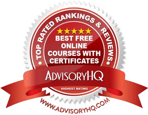 best certificate courses top 6 best free courses with certificates 2017