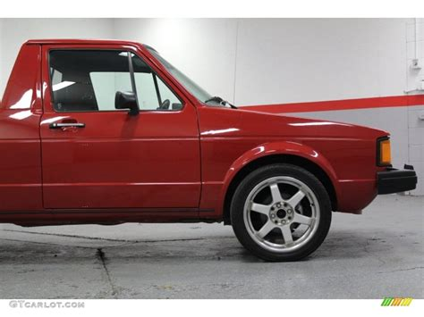 volkswagen rabbit custom 1981 volkswagen rabbit pickup caddy custom wheels photo