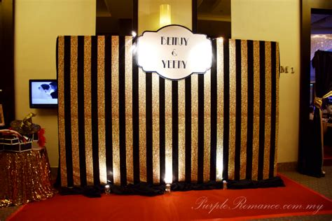 Wedding Backdrop Kl by Gatsby Wedding Theme At Hatten Hotel Melaka Purple