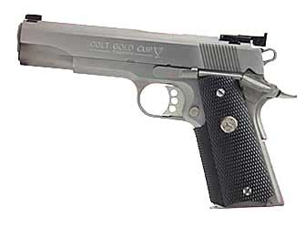 woodland rubber sts colt s manufacturing gold cup trophy semi automatic 1911