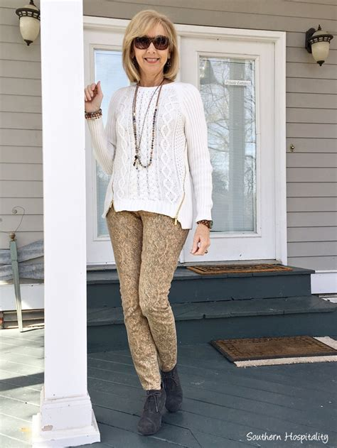 casual style over 50 fashion over 50 travel and casual wear southern hospitality