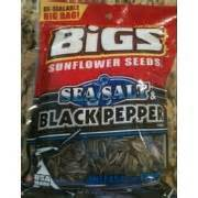 black pepper sunflower seeds big s sunflower seeds sea salt black pepper calories nutrition analysis more fooducate
