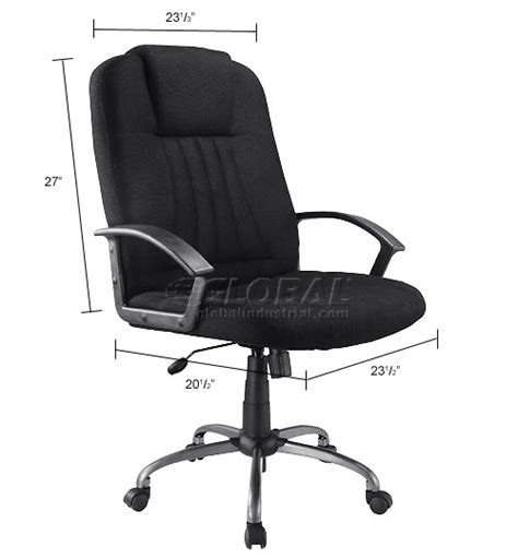 global industrial office chairs chairs fabric upholstered executive office chair