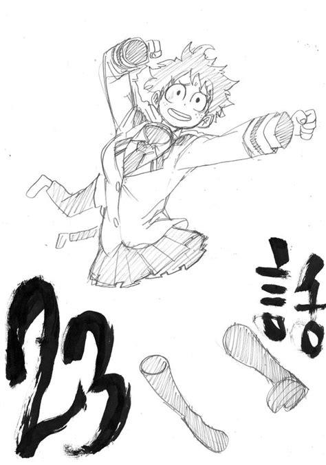 image chapter 23 sketch png boku no academia wiki