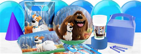 secret life  pets party supplies woodies party