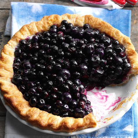 cape cod blueberry pie recipe taste of home