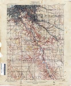 Ohio Topographic Map by Ohio Historical Topographic Maps Perry Casta 241 Eda Map