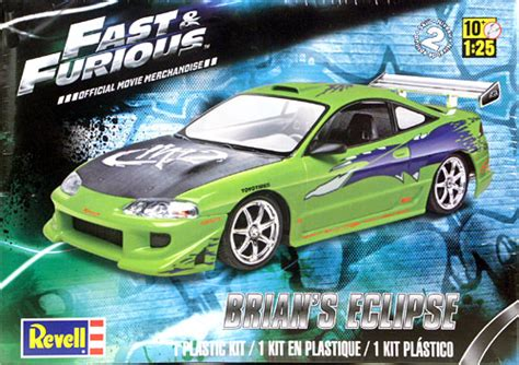 brian s eclipse fast and the furious revell fast and furious brians mitsubishi eclipse