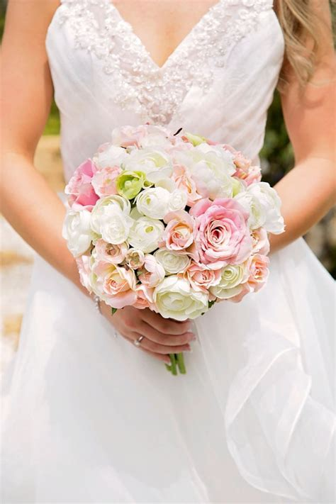 flower bouquets for brides wedding bouquet bouquet pink ivory and
