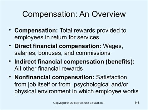 Compensation And Benefits Project For Mba by Mondy Hrm13 Inppt09 Ppt