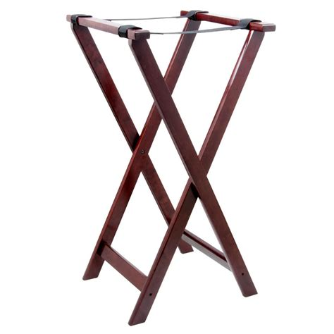 Table Stand Lancaster Table Seating 32 Quot Folding Wood Tray Stand