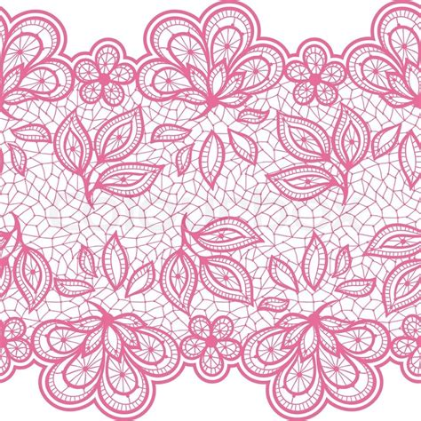 seamless lace pattern vector old lace seamless pattern ornamental flowers vector