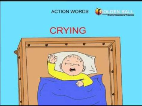 action words (verb + ing) youtube