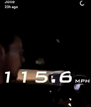 snapchat video shows driver going 115mph in car moments