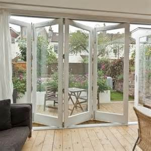 Accordion Style Patio Doors by Substitute Exterior Accordion Doors For Increased