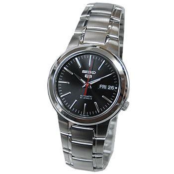 Jam Tangan Pria Seiko 5 Snzj33k1 Silver Black seiko 5 snka07k1 mens automatic jam tangan pria snka07