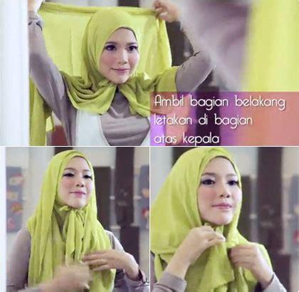 Tutorial Hijab Paris Tanpa Peniti | tutorial hijab tanpa peniti dengan scarf segiempat untuk