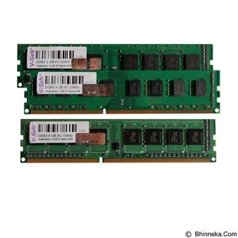 Memory V Ddr3 2gb Pc10600 jual v memory pc ddr3 dimm 8gb pc10600 1333mhz merchant murah bhinneka