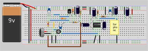 digital hearing aid circuit diagram hearing aid audio lifier circuit diagram