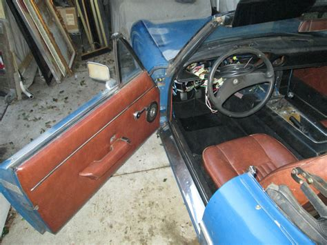 car interior paint cost 1974 healey roadster rblt engine new interior