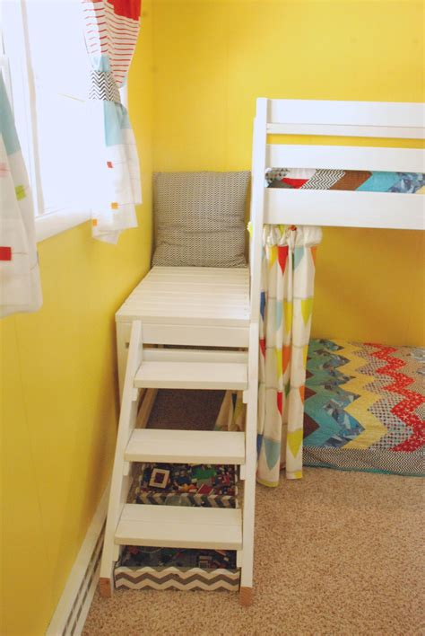 diy loft bed ana white diy jr c loft bed with curtain diy projects
