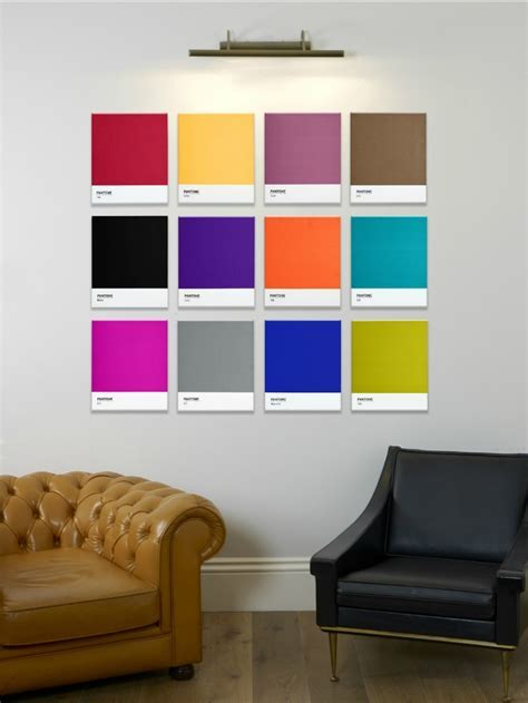 Contemporary Wall Art from Pantone   The Design Sheppard