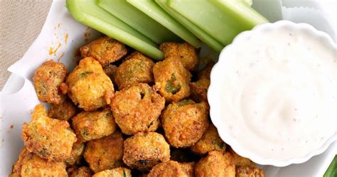 frugal foodie buffalo fried okra